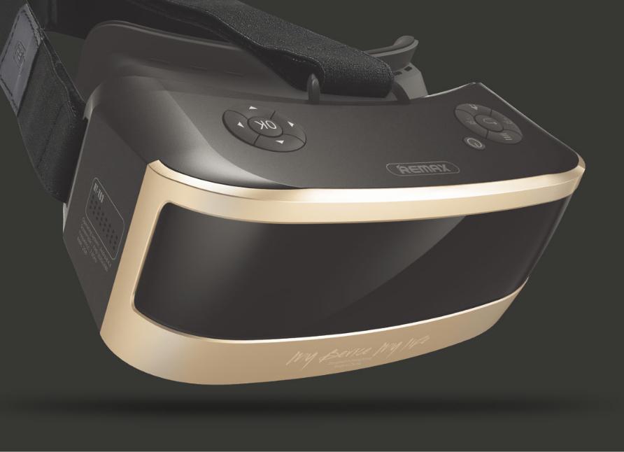 Очки виртуальной реальности Remax VR RT-V03 (Оригинал)