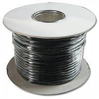 Бухта телефонного кабеля Digitus 100m Phone cable (AK-460700-100-S) Black