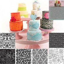 Текстурный мат Цветочный набор 6 шт