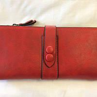 Женский красный кошелёк, фото 1