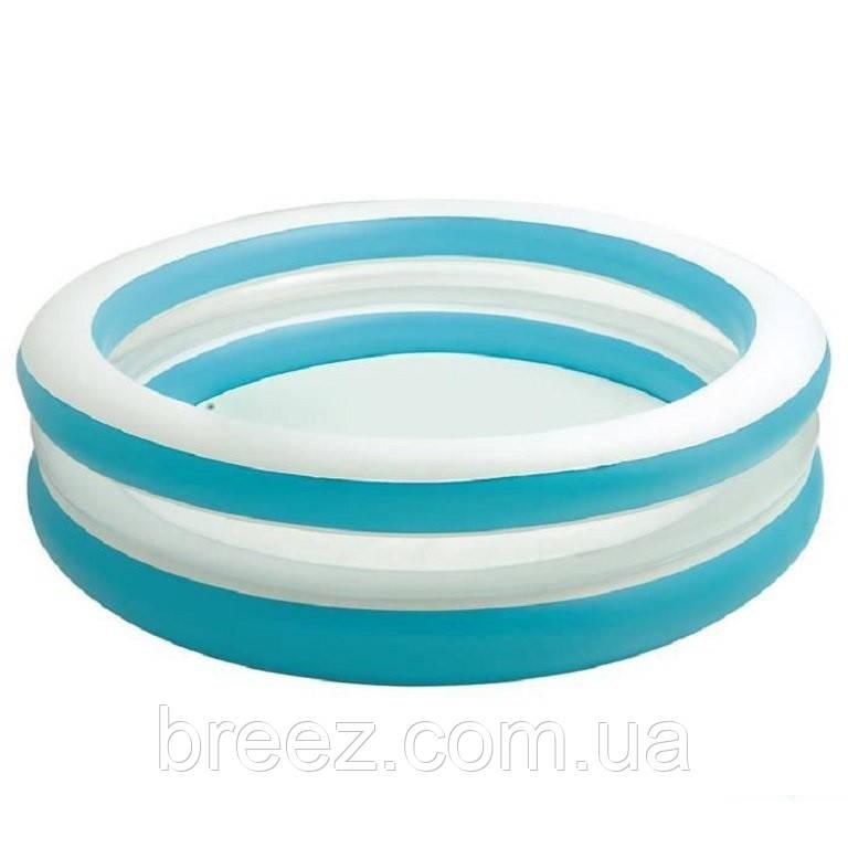 Детский надувной бассейн Intex 57489 Линза с прозрачными стенками 203 х 51 см