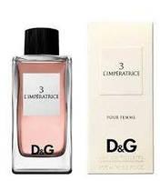 Парфюмированная вода  D&G L'imperatrice 3