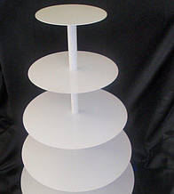 Подставка металлическая для торта 4 уровня