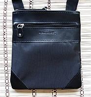 Мужская сумка через плечо барсетка Планшет 23х20см