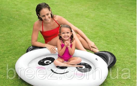 Детский надувной бассейн Intex 59407 Панда 117 х 89 х 14 см, фото 2