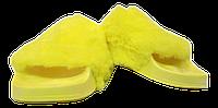 Шлепанцы женские мягкие SOPRА желтые размеры 37-41.