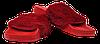 Шлепанцы женские мягкие SOPRА красные размеры 37-41.