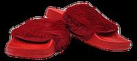 Шлепанцы женские мягкие SOPRА красные размеры 37-41., фото 1