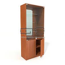 Витрина шкаф (задняя стенка зеркало), фото 3