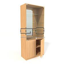 Витрина шкаф (задняя стенка зеркало), фото 2