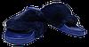Шлепанцы женские мягкие SOPRА синие размеры 37-41.