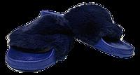 Шлепанцы женские мягкие SOPRА синие размеры 37-41., фото 1
