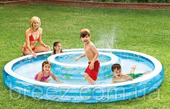 Детский надувной бассейн Intex 57143 Колодец желаний 279 х 36 см, фото 3