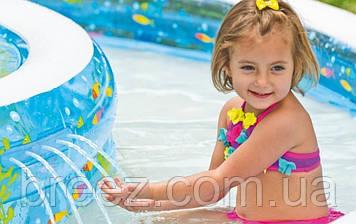 Детский надувной бассейн Intex 57143 Колодец желаний 279 х 36 см, фото 2