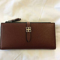 Женский коричневый кошелёк