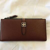 Женский коричневый кошелёк, фото 1