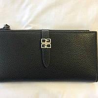 Женский чёрный кошелек, фото 1
