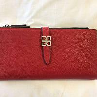 Женский бордовый кошелек, фото 1