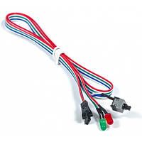 Кнопка включения T-Cable Power/Reset Switch + 2 LED 0,65m