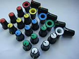 Ручка потенциометров 16.2x11.9 пульта Yamaha (цветная), фото 2