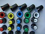 Ручка потенциометров 16.2x11.9 пульта Yamaha (цветная), фото 4