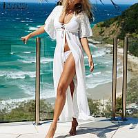 Женское пляжное платье длинное РМ7305