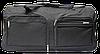Стильная сумка-чемодан на колесах черного цвета EEE-875476