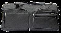 Стильная сумка-чемодан на колесах черного цвета EEE-875476, фото 1