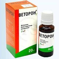 Веторон Е (бета-каротин, вит. С и Е) 20мл, купить, цена, отзывы, интернет-магазин