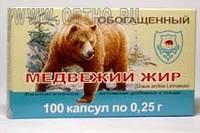Медвежий жир обогащённый 100 капс., купить, цена, отзывы, интернет-магазин