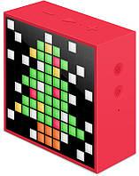 Портативная акустика Divoom Timebox mini Red