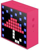 Портативная акустика Divoom Timebox mini Pink