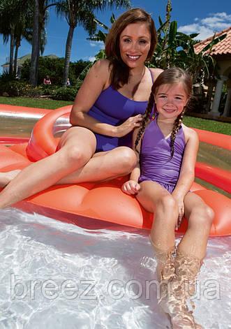 Детский надувной бассейн Bestway 54158 Коралл с сиденьем 232 х 223 х 63 см, фото 2