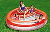 Детский надувной бассейн Bestway 54158 Коралл с сиденьем 232 х 223 х 63 см