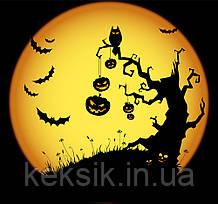 Вафельная картинка Halloween 17