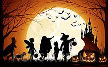 Вафельная картинка Halloween 23
