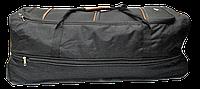Удобная сумка-чемодан на колесах черного цвета EES-870007, фото 1