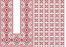 Вафельная картинка Вышивка 7