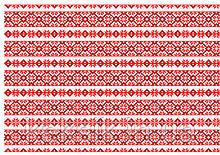 Вафельная картинка Вышивка 15