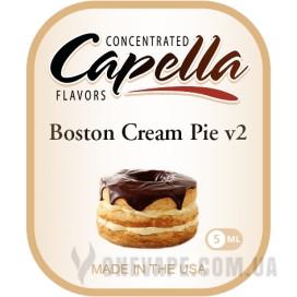 Ароматизатор Capella Boston Cream Pie v2 (Бостонский Кремовый Пирог)