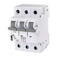 Автоматический выключатель ST-68 (4,5 кА) 3p 6 А хар-ка C, ETI (Словения)
