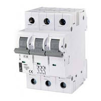 Автоматический выключатель ST-68 (4,5 кА) 3p 16 А хар-ка C, ETI (Словения)