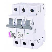 Автоматический выключатель ETIMAT 6 (6кА) 3P 32 А хар-ка C, ETI (Словения)