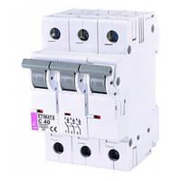 Автоматический выключатель ETIMAT 6 (6кА) 3P 40 А хар-ка C, ETI (Словения)