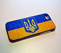 Чехол для iPhone 5 5S  флаг и герб Украины