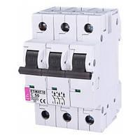 Автоматический выключатель ETIMAT 10 (6кА) 3P 50 А хар-ка C, ETI (Словения)