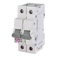 Автоматический выключатель ETIMAT P10 (10кА) 2P 32 А хар-ка B, ETI (Словения)