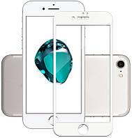 Защитное стекло Mocolo 3D Full Cover Anti-Blue Tempered Glass iPhone 7 Plus White