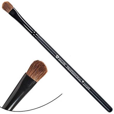 Salon Prof. Кисть для макияжа 3323FB (малая) полу-плоская закругленная 10х7мм, фото 2