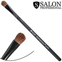 Salon Prof. Кисть для макияжа 3323FB (малая) полу-плоская закругленная 10х7мм